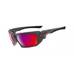 Óculos Scalpel Dark Grey lentes + Red Iridium