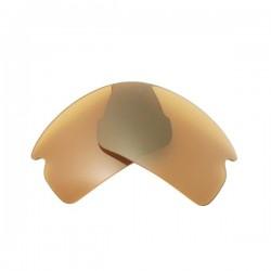 Lente Flak 2.0 - Gold Marrom