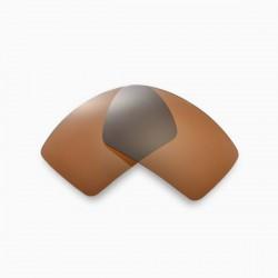 Lente Eyepatch 1 Gold Marrom
